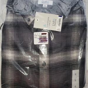 New Men's Woven XL Shirt